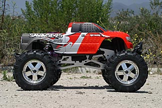 Hpi savage 21 25 on best off road gps