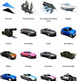 Garmin custom vehicle icons